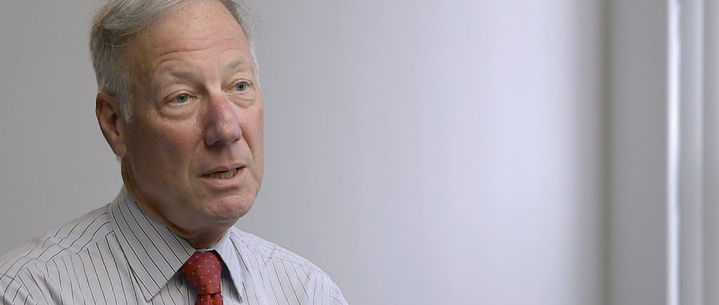 Bob was pre-interviewed on the phone to discuss his story. We felt he was a great character with a great story for the message we wanted to get across for LLS.org. This is an image capture during his video interview.
