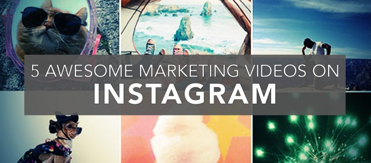 5 awesome marketing videos on instagram