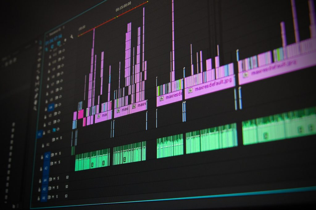 video editing timeline
